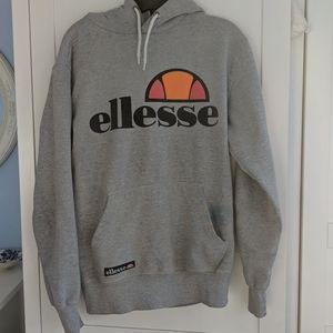 Ellesse heather grey hoodie